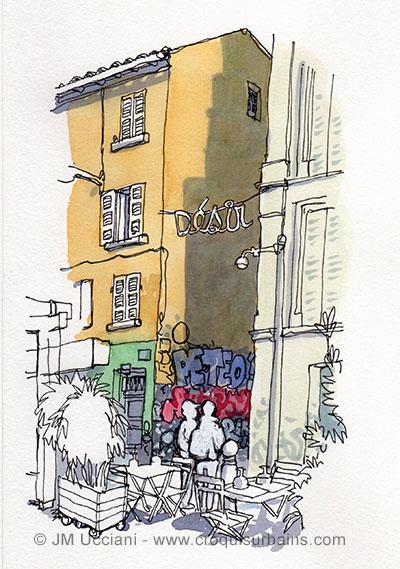 Le Cours Julien à Marseille