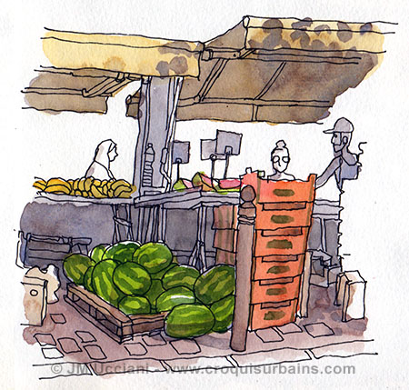 place du marché des Capucins