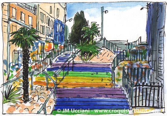 Escaliers Cours Julien