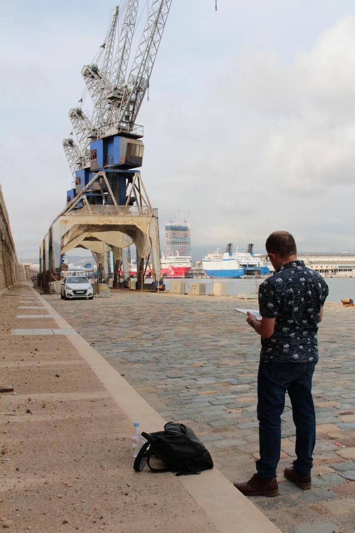 3 grues de Marseille