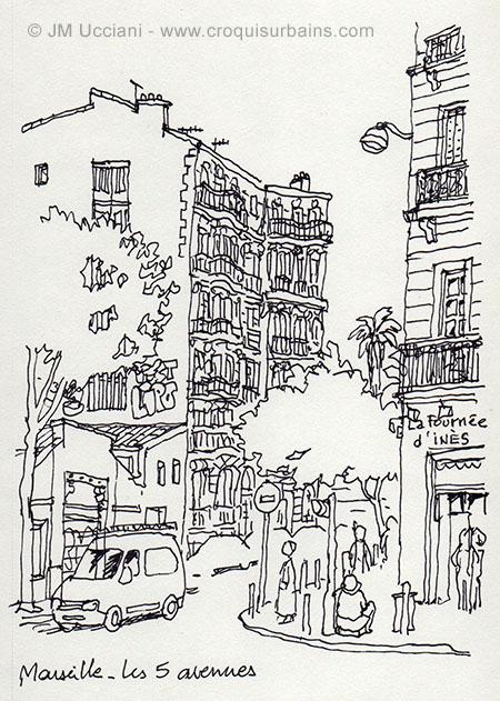 quartier des 5 avenues