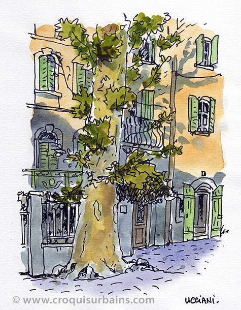 Platane Village Provence