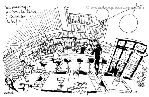 Intérieur de bar