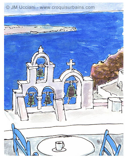 Balade dessinée en Grèce