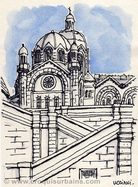 Cathédrale de la Major à Marseille