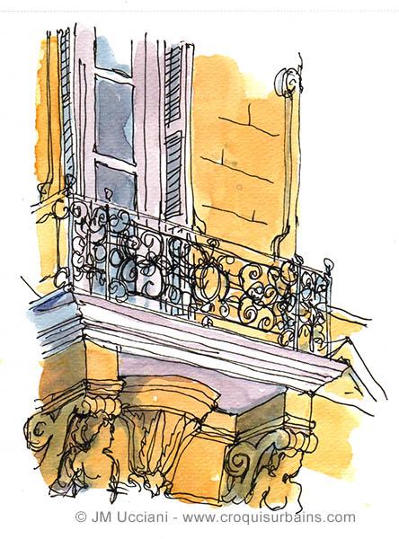 facades aix en provence