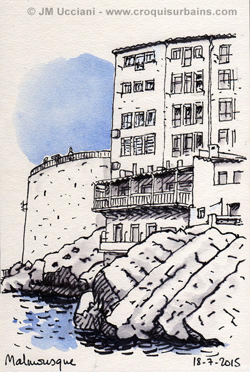 Corniche Malmousque Marseille