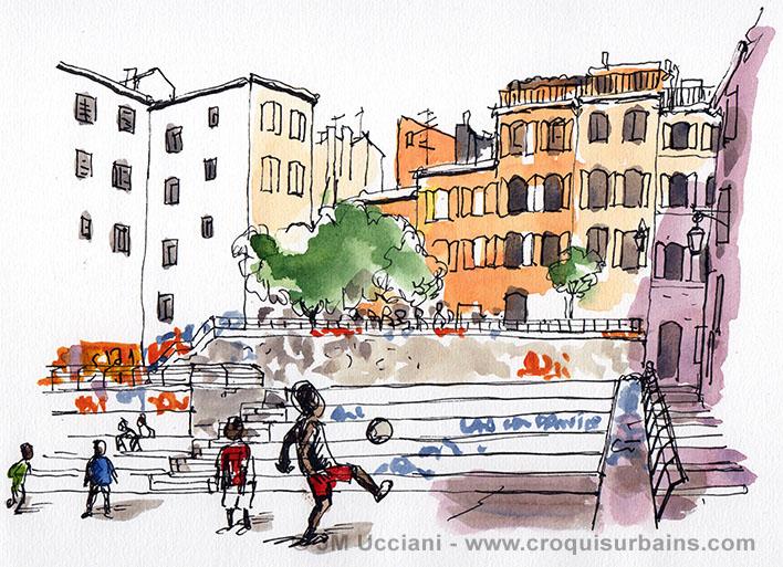 Place du Refuge Marseille