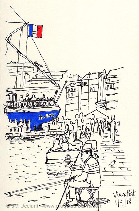 Bélem sur le vieux port