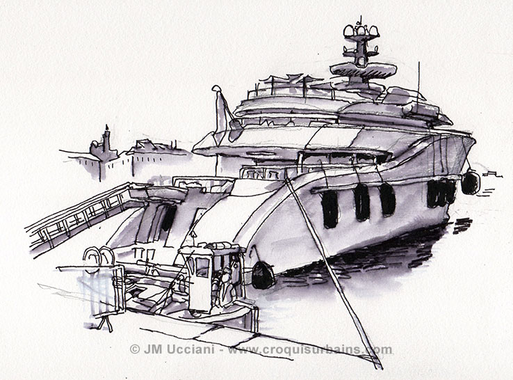 yacht Kismet Marseille