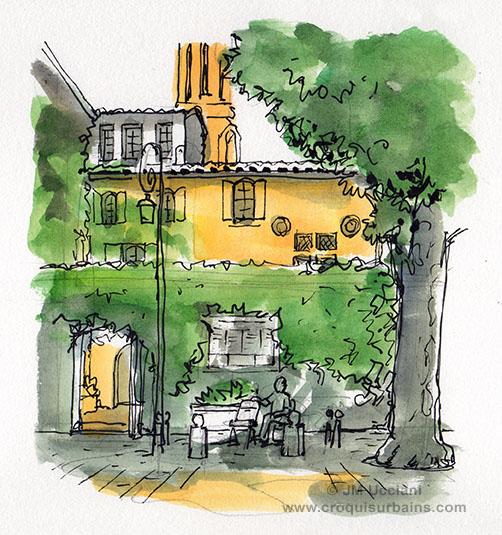 Place de l'archevêché Aix