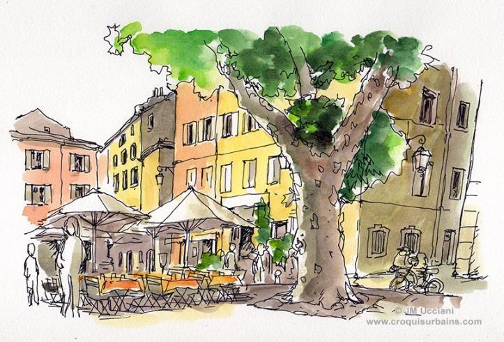 Place des Tanneurs Aix