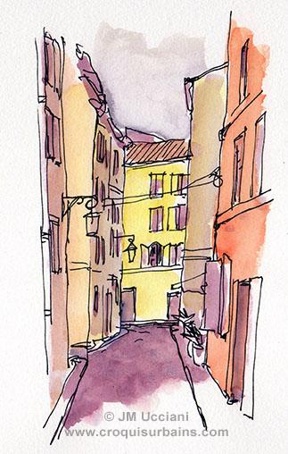 Rue du Griffon Aix