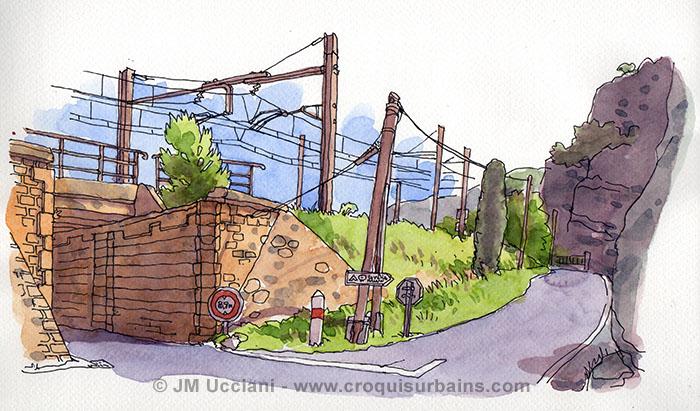 Pont de chemin de fer Orgon