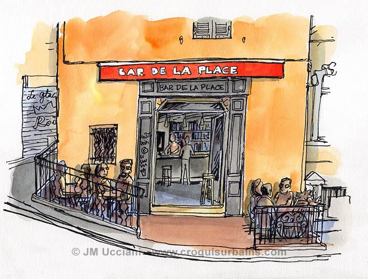 Bar place Lenche Marseille