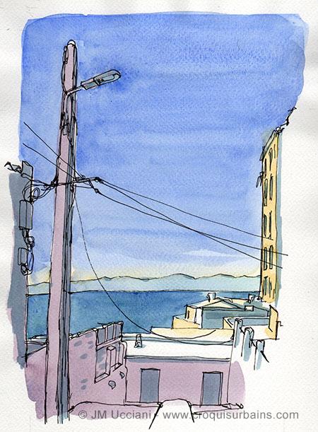 La mer à Malmousque
