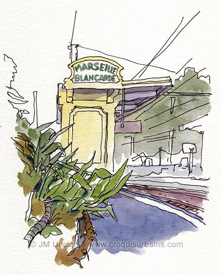 Le gare Marseille Blancarde