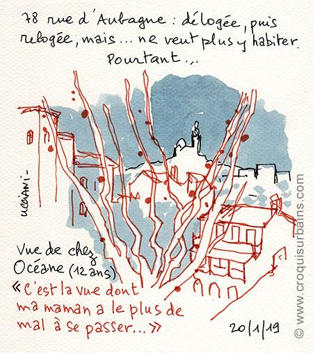 Temoignage sinistrés rue d'Aubagne