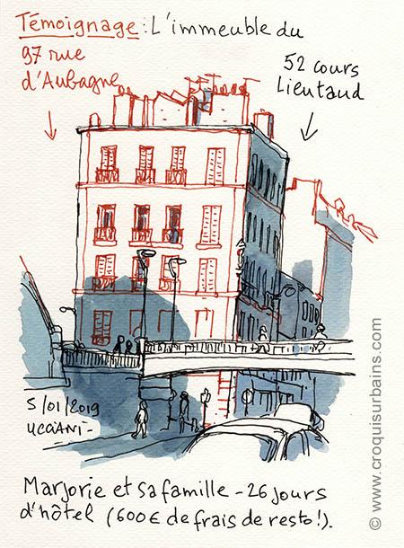 Témoignage rue d'Aubagne
