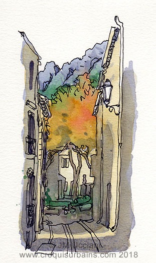 Puyloubier, place et ruelle