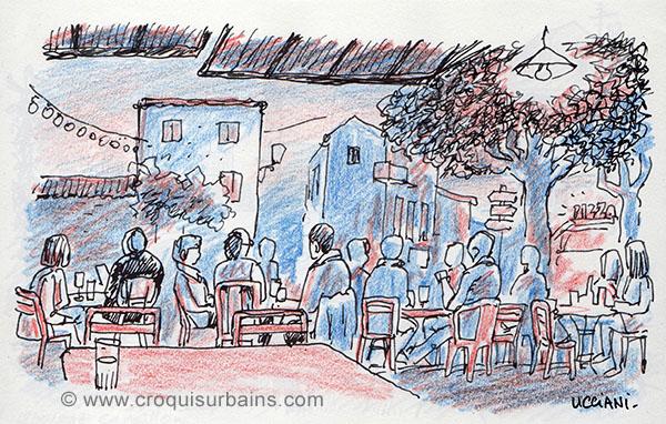 Café de la Place Eygalières