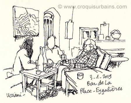 Bar de la Place Eygalières