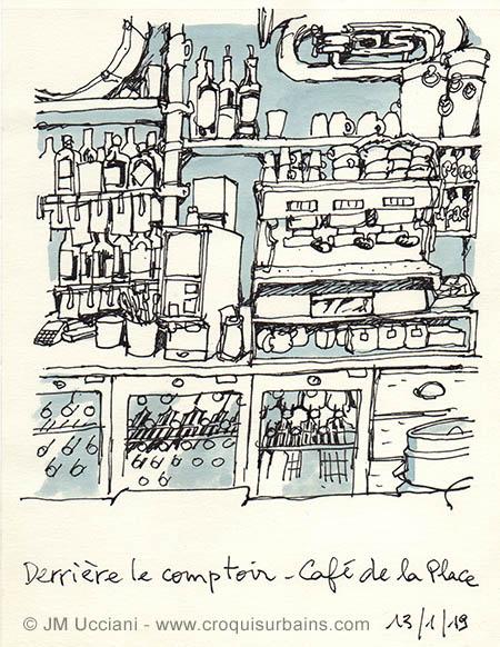 Cafe de la Place Eygalières