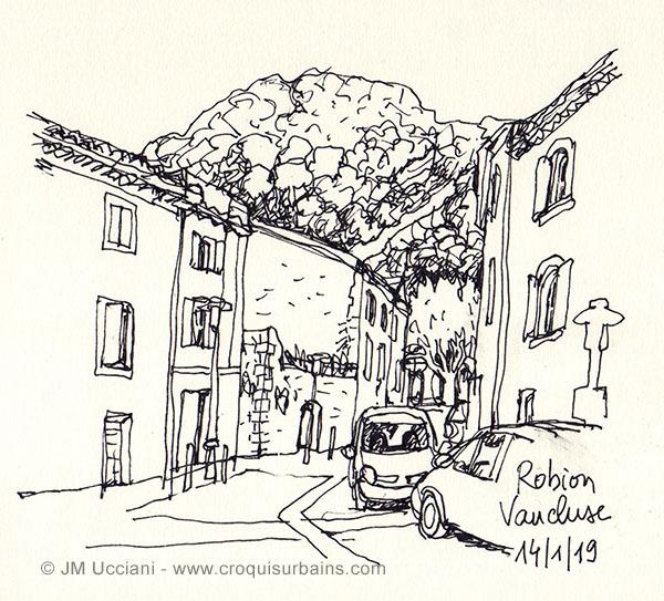 Robion petit village du Luberon