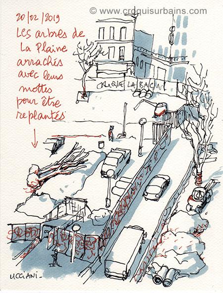 Chantier de La Plaine à Marseille