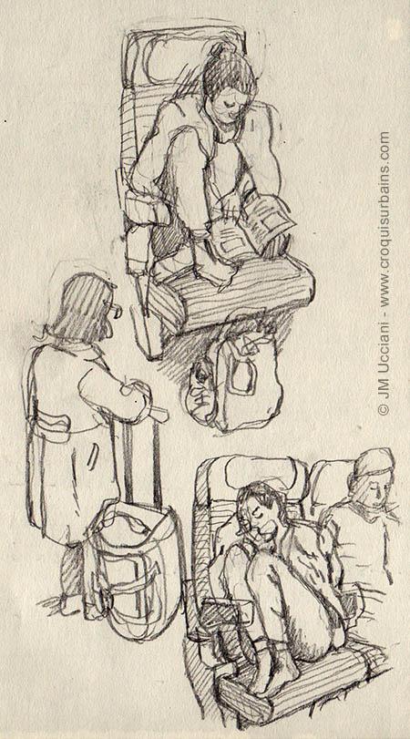 Dans les transports