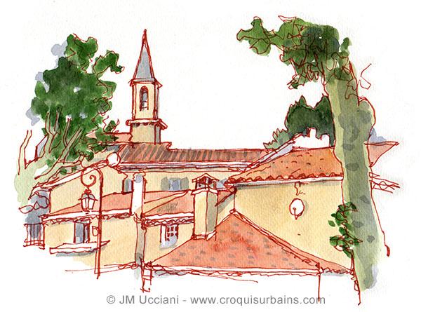 Loriol du Comtat dans le Vaucluse