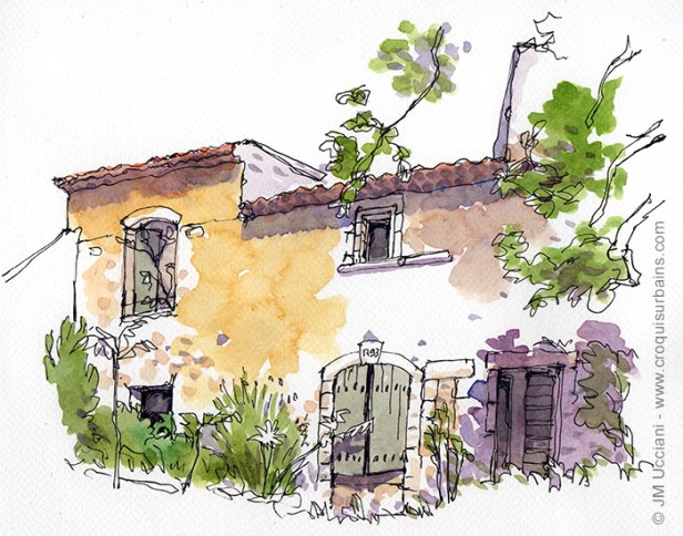 mas provençal abandonné