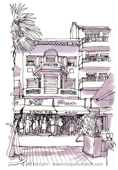 boutiques du port de Bandol