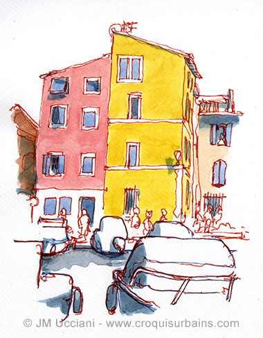 Martigues dessiné