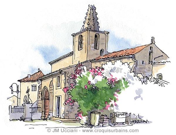 Église de Sénas