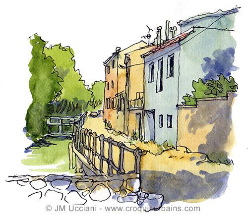 Canal à Orgon