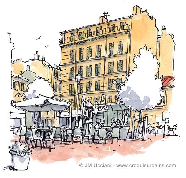 Square Edmond Rostand