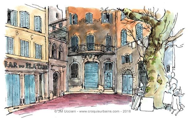 Place saint Augustine