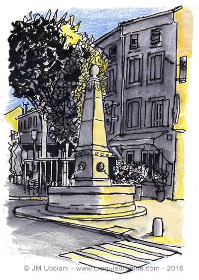 Fontaines de Saint Rémy de Provence