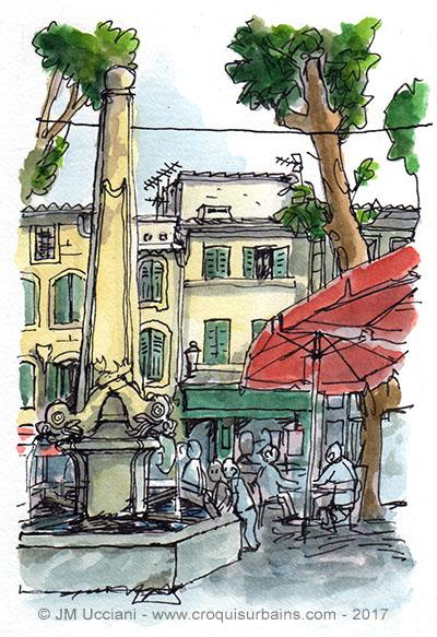 Fontaine Saint-Remy de Provence