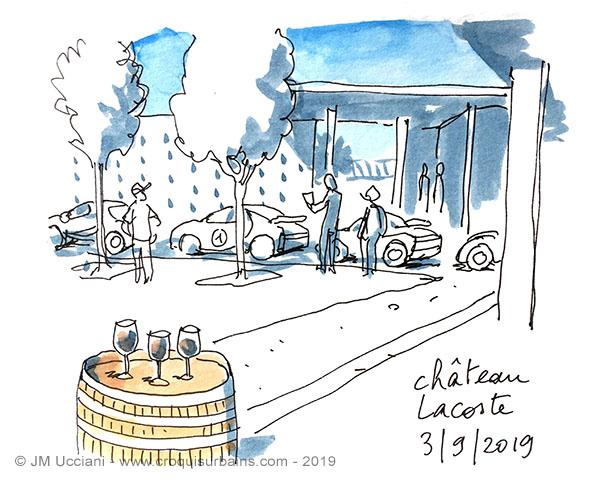 Bugatti chateau Lacoste