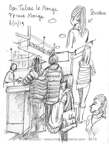 Bar Place Monge