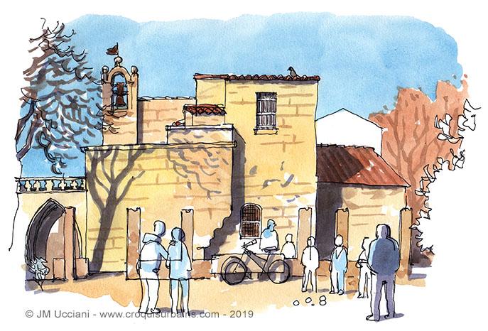 jeu de boules saint-Rémy de Provence