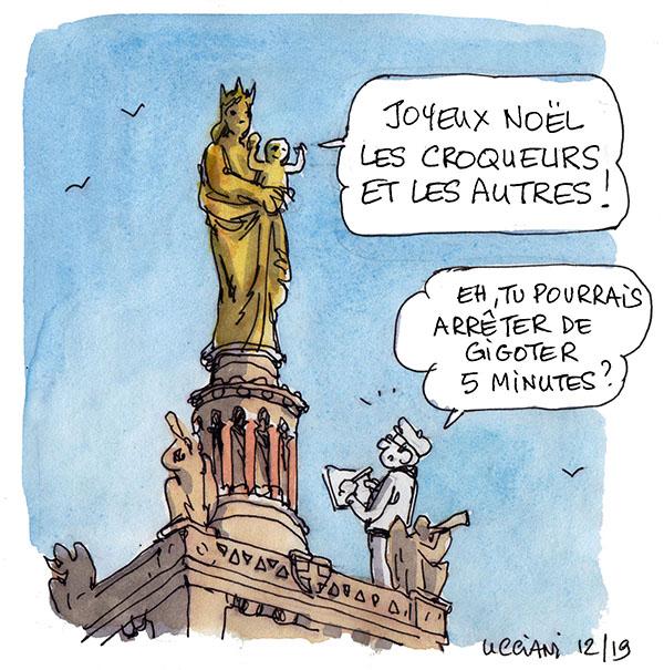Bonne mère Marseille