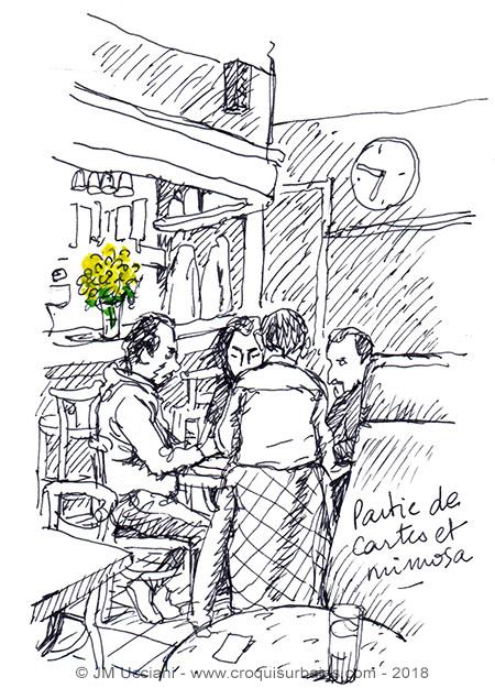 bar mimosa provence