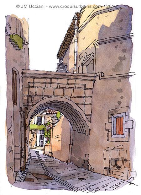 Ruelles saint Rémy de Provence